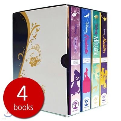 디즈니 프린세스 시네스토리 4종 세트 (알라딘 / 인어공주 / 신데렐라 / 라푼젤) : Disney Princess Cinestory Comic
