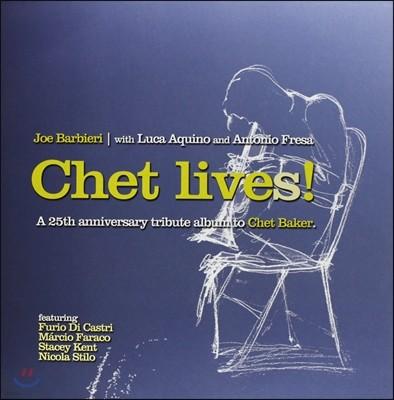 Joe Barbieri (조 바비에리) - Chet Lives! [LP]