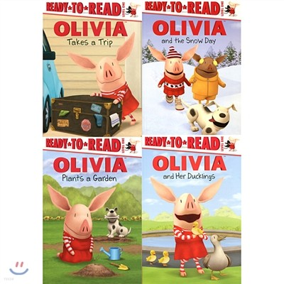 Ready to read Level 1: Olivia 4종 Book Set