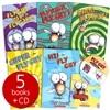 플라이 가이 펀 리더 5권 세트 (Book & CD)