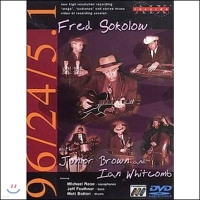 Fred Sokolow (프레드 소콜로우) - with Junor Brown & Ian Whitcomb (주니어 브라운, 이안 휘트콤과 함께) [DVD-Audio & DVD-Video]