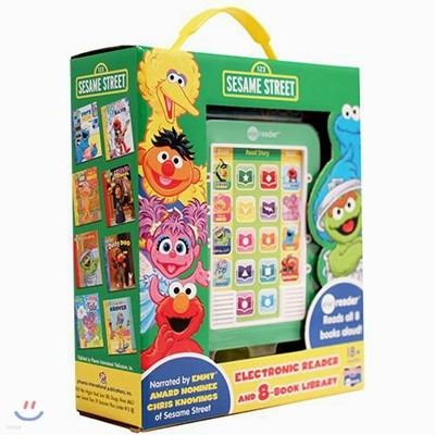 Me Reader & 8 books Library : Sesame Street 세서미 스트리트 미리더 사운드북