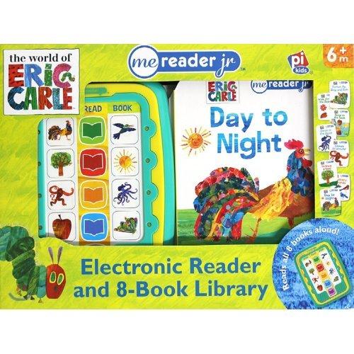 Me Reader Junior & 8 books Library : Eric Carle 에릭칼 미리더 주니어 사운드북