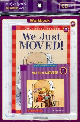 Scholastic Hello Reader Level 2-12 : We Just MOVED! (Book+CD+Workbook Set)