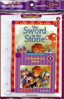 Scholastic Hello Reader Level 2-14 : The Sword in the Stone (Book+CD+Workbook Set)