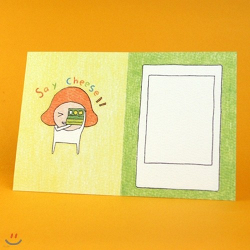 2in1card-Say Cheese