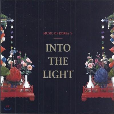 V.A. / Into The Light: Music of Korea V (CD+DVD/Digipack/미개봉/프로모션용)
