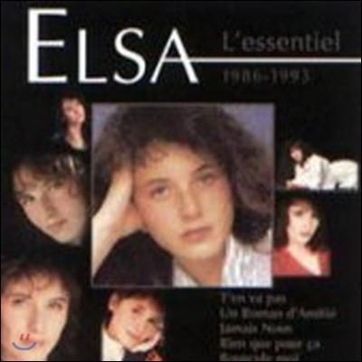[중고] Elsa / L'essentiel 1986-1993 (BEST/홍보용)