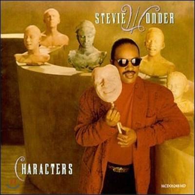 [중고] Stevie Wonder / Characters (홍보용)