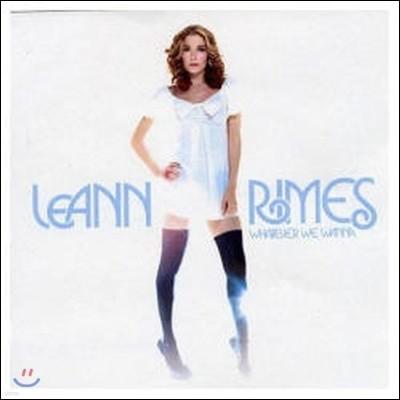 [중고] Leann Rimes / Whatever We Wanna (홍보용)