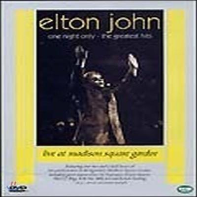 [중고] [DVD] Elton John / One Night Only: The Greatest Hits (수입)