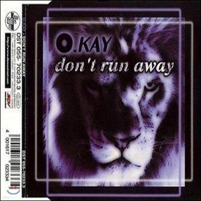 [중고] O.Kay / Don't Run Away (수입/Single)