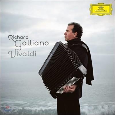 Richard Galliano 비발디 앨범: 사계 [아코디언 편곡 연주반] (Vivaldi: The Four Seasns for Accordeon & String Quintet) 리샤르 갈리아노