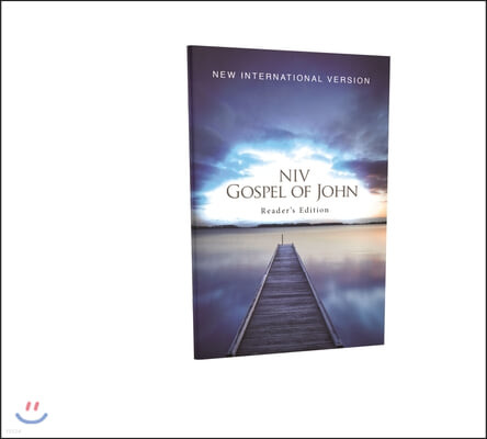 NIV, Gospel of John, Reader's Edition, Paperback