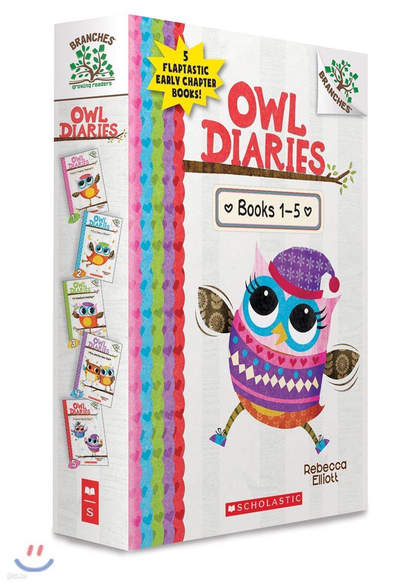 Owl Diaries, Books 1-5: A Branches Box Set (CD, 단어장 미포함)