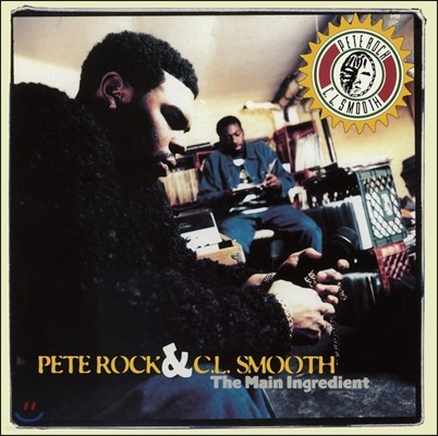 Pete Rock & C.L. Smooth (피트락 앤 씨엘스무스) - The Main Ingredient [LP]