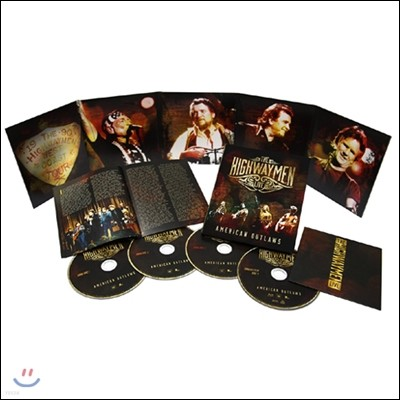 The Highwaymen (하이웨이멘) - American Outlaws: The Highwaymen Live (BOXSET)