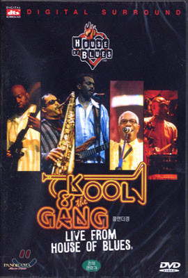 Kool & The Gang: Live From House Of Blues 쿨앤더갱, dts