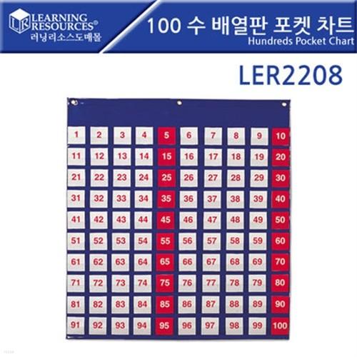 LER2208 100 수배열판 포켓 차트