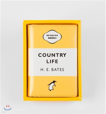 Penguin Passport Holder : Country Life (Yellow)