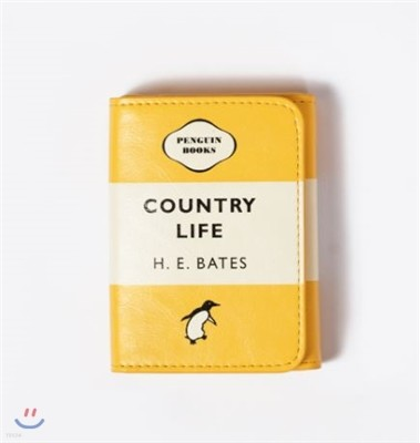 Penguin Name Card Holder : Country Life (Yellow)