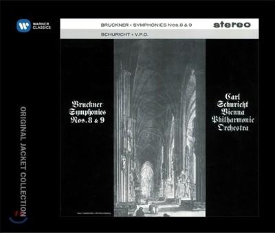 Carl Schuricht / Wiener Philharmoniker 브루크너: 교향곡 8번, 9번 [노박 판본] - 카알 슈리히트, 빈 필하모닉 (Bruckner: Symphonies Nos.8 & 9 [Nowak Version])