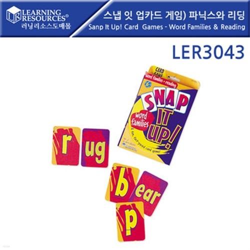 LER3043 스냅 잇 업 카드게임 - 파닉스와 리딩