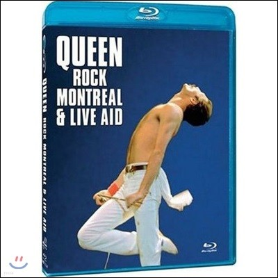 Queen (퀸) - Rock Montreal & Live Aid [Blu-ray]
