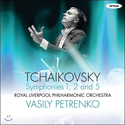Vasily Petrenko 차이코프스키: 교향곡 1번 '겨울날의 환상', 2번 '작은 러시아', 5번 (Tchaikovsky: Symphonies Op.13 'Winter Dreams', Op.17 'Little Russian', Op.64) 바실리 페트렌코, 로열 리버풀 필하모닉