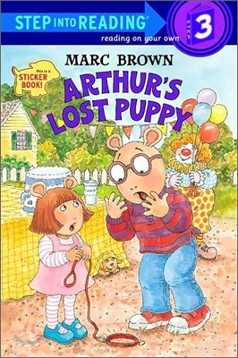 Step Into Reading 3 : Arthur's Lost Puppy with Sticker
