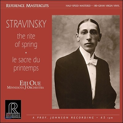 Eiji Oue 스트라빈스키: 봄의 제전 (Stravinsky: The Rite of Spring [Le Sacre du Printemps] 아이지 오우에, 미네소타 오케스트라 [LP]