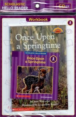 Scholastic Hello Reader Level 2-20 : Once Upon a Springtime (Book+CD+Workbook Set)