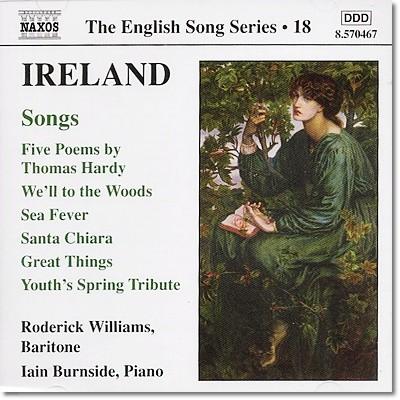 Roderick Williams 존 아일랜드: 가곡집 (John Ireland: Songs)