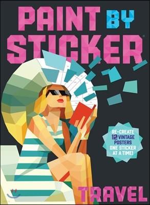 Paint by Sticker : Travel : 스티커로 색칠하기 : 여행