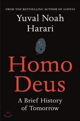 Homo Deus (영국판) (164 x 243 mm)