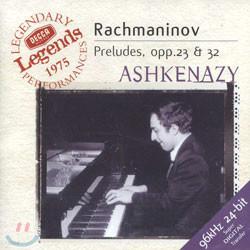 Rachmaninov : Preludes Op.23 & Op.32 : Ashkenazy