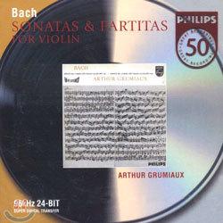Bach : Sonata And Partita For Violin : Arthur Grumiaux