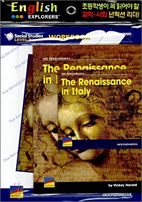 English Explorers Social Studies Level 2-04 : The Renaissance in Italy (Book+CD+Workbook)
