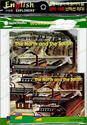 English Explorers Social Studies Level 2-08 : The North and the South (Book+CD+Workbook)