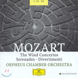 Mozart : The Wind ConcertosㆍSerenadeㆍDivertimenti : Orpheus Chamber Orchestra
