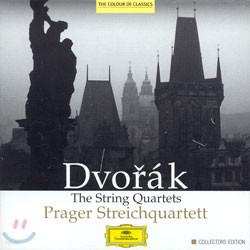 드보르작 : 현악 사중주곡 전집 - Pragar String Quartet