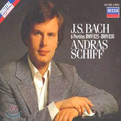 바흐 : 6 파르티타 BWV 825-830 - 안드라스 쉬프