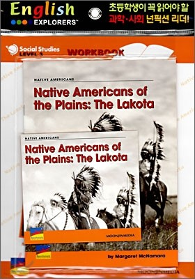 English Explorers Social Studies Level 3-03 : Native Americans of the Plains : The Lakota (Book+CD+Workbook)