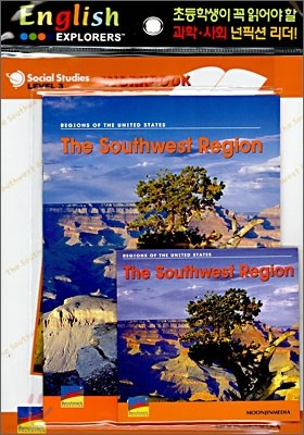 English Explorers Social Studies Level 3-06 : The Southwest Region (Book+CD+Workbook)