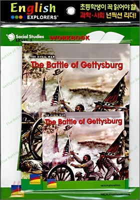 English Explorers Social Studies Level 3-08 : The Battle of Gettysburg (Book+CD+Workbook)