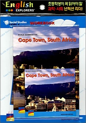 English Explorers Social Studies Level 4-02 : Cape Town, South Africa (Book+CD+Workbook)