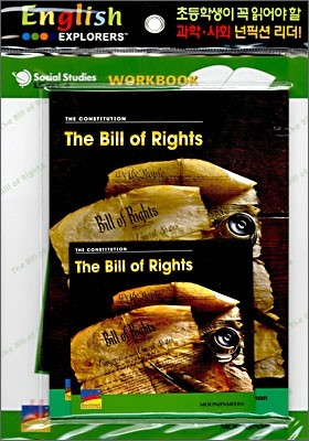 English Explorers Social Studies Level 4-07 : The Bill of Rights (Book+CD+Workbook)