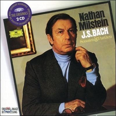 Nathan Milstein 바흐: 바이올린 소나타 & 파르티타 - 나탄 밀스타인