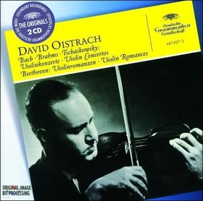 David Oistrakh 바흐 / 브람스 / 차이코프스키 : 바이올린 협주곡 (Bach / Brahms / Tchaikovsky: Violin Concerto)