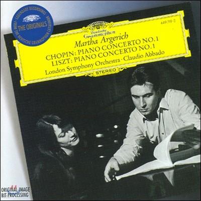 Martha Argerich / Claudio Abbado 쇼팽 / 리스트: 피아노 협주곡 1번 (Chopin / Liszt: Piano Concerto No.1)
